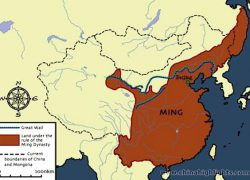 Ming empire map from pinterest 4