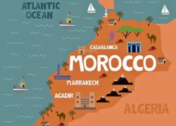 Morocco map from orangesmile 5