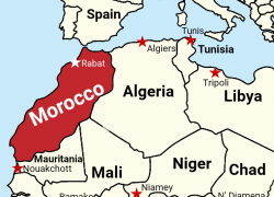 Morocco map from reddit 6