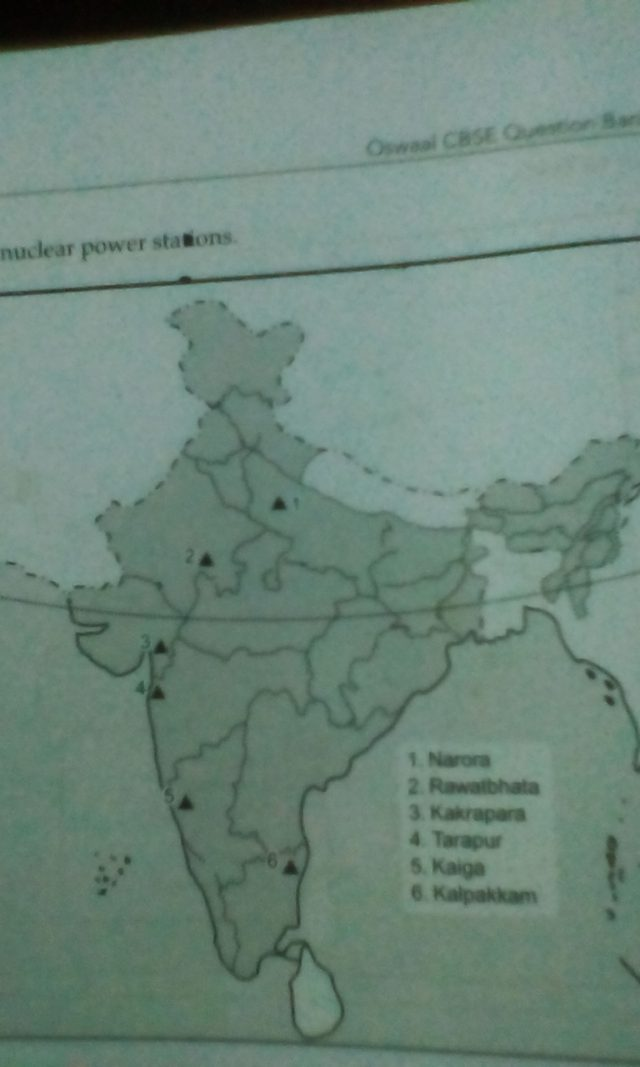 Namrup thermal power plant in india map from brainly 1
