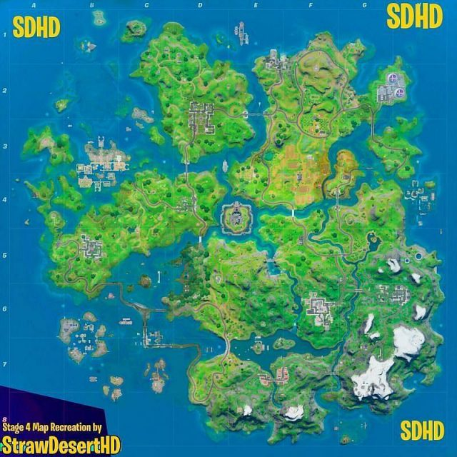 New Fortnite Map Chapter 2 Season 5