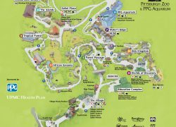 Pittsburgh map from pittsburghzoo 10