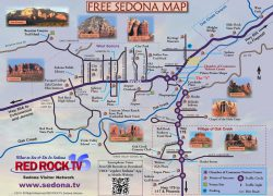 Sedona arizona map from pinterest 8