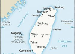 Taiwan map from cia 10
