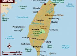 Taiwan map from lonelyplanet 2