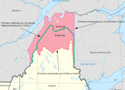 Webster ashburton treaty map from commons 9