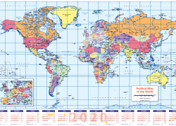World map 2020 hd from cosmographics 6