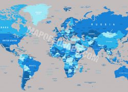 World map 2020 hd from mapofeurope 4