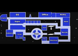Among us airship map layout from youtube 4