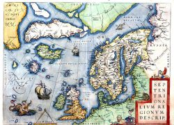 Leif erikson map from famous explorers 3