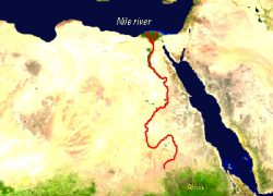 Nile delta map from delta alliance 10