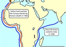 Prince henry the navigator map from mrdowling 2