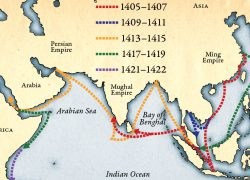 Zheng he map route from rochester 2